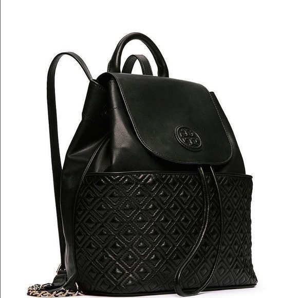 56d216343114 Tory Burch Marion Quilted Backpack