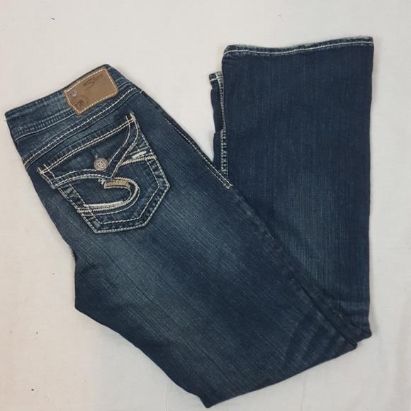 Silver Jeans Denim - Silver jeans co. Suki surplus jeans