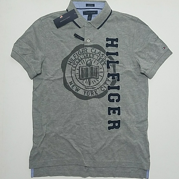9e72ab6c Tommy Hilfiger Shirts | Polo Applique Front M New | Poshmark