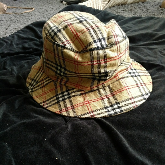 Burberry Accessories - Burberry   Cute plaid hat dc9dc47ec21