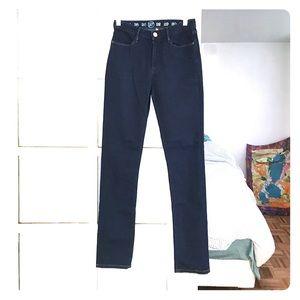 Earnest Sewn high waist straight leg jeans