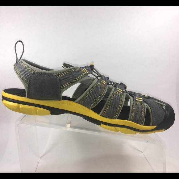 270cf73f86aa Keen Other - Keen Men s Clearwater Sandal Gargoyle   Lemon 10.5