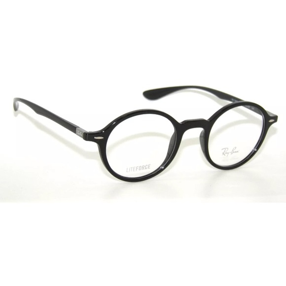 ed1bb7133e 🎈RAY BAN 7069 BLACK EYEGLASSES FRAME 46mm