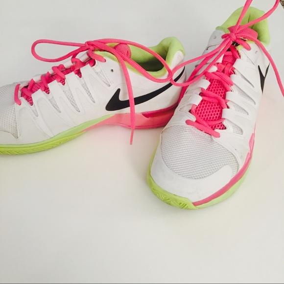 Nike Zoom Vapor 95 Tour Neon Tennis