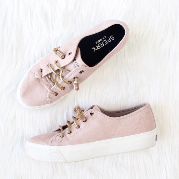 Sperry Sky Sail Platform Sneaker Pink
