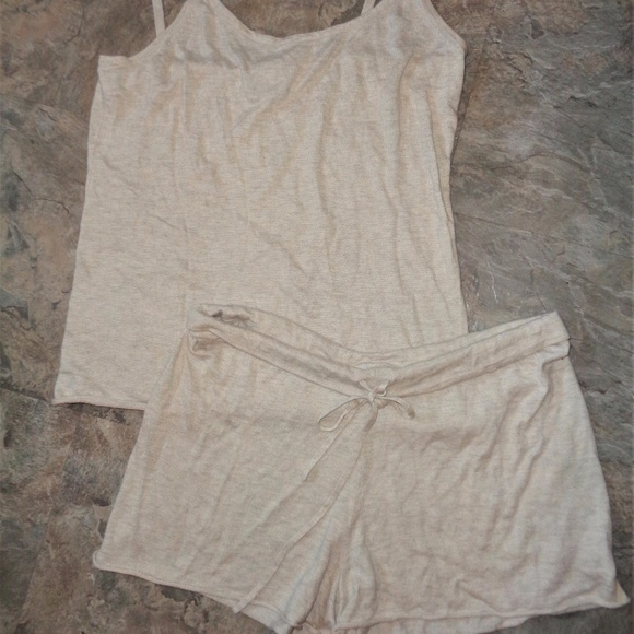 bath   body works tank shorts lounge pajama set 881a51619