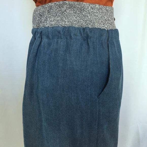 Anthropologie Skirts - Anthroplogie Tencel Skirt