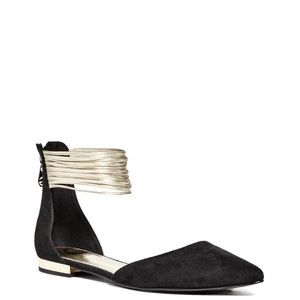Guess ankle strap flats