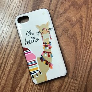 Kate Spade Camel IPhone 7 case