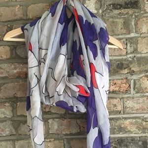Patterned Fall Scarf
