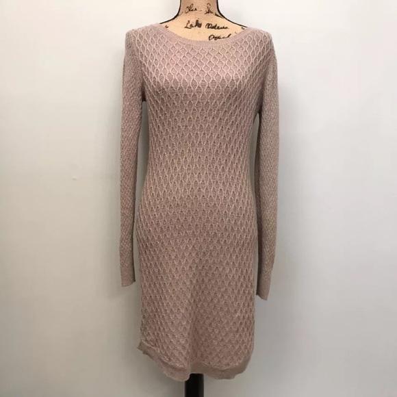 cb0616b4d0a LOFT Dresses   Skirts - ANN TAYLOR LOFT Taupe Sweater Dress