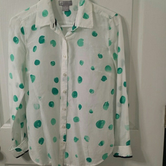 Jcpenney Tops Womens Button Up Shirt Poshmark