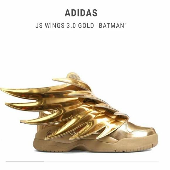 Jeremy Scott x Adidas Other - Jeremy Scott Wings 3.0 Gold