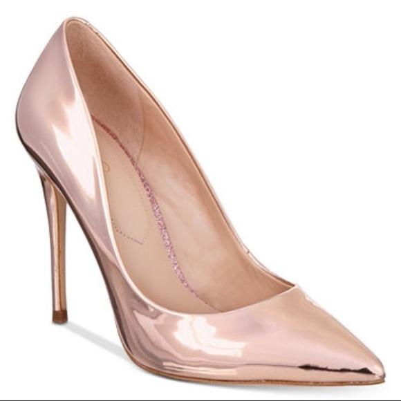 Aldo Shoes | Aldo Metallic Rose Gold
