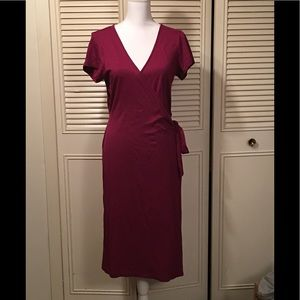 NWOT Eddie Bauer wrap dress