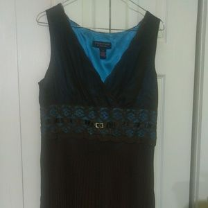 NWT Brown & Turquoise dress offers welcomed!