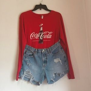 Coca Cola Long Sleeve Tshirt