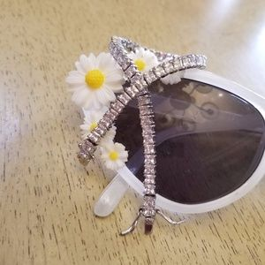 18k Swarovski Princess cut bracelet