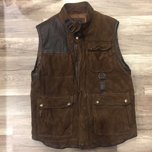 Other - CREMIEUX Genuine leather/Suede Utility Vest