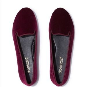 Maisha Bordeaux shoes