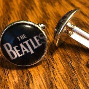 Other - The Beatles Round Novelty Cufflinks
