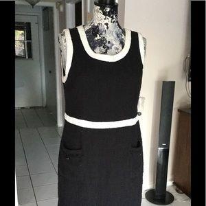 Nannette Lapore sleeveless knit dress