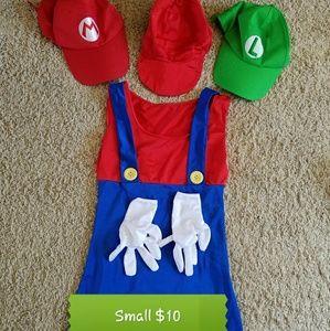 Small womens Mario costume