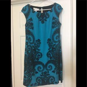 Dresses & Skirts - 🎉HP 🎉Turquoise blue paisley dress