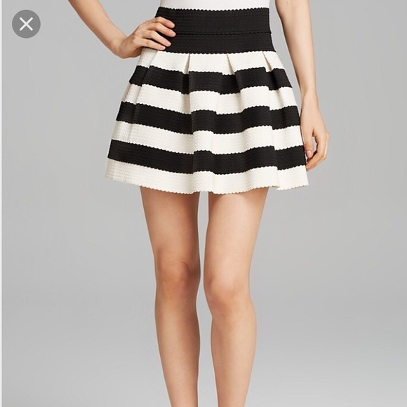 Black And White Striped Skirt Clothing, Shoes & Accessories Skirts