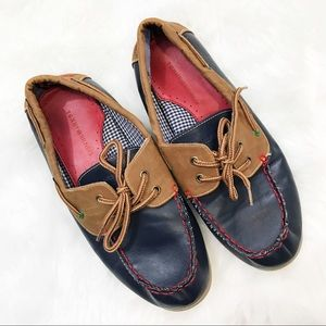 Tommy Hilfiger • Navy Boat Shoes