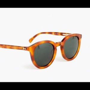 J Crew Frankie sunglasses Honey Tortoise