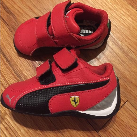 Puma Toddler boy shoes size 4. M 59d5933e2599fe5ae40018bc 3d248bb6bf17