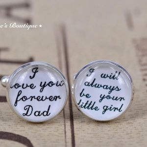 Other - Cufflinks Wedding Gift for a Daughter to a Father