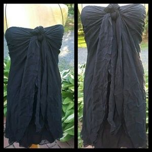 Foley + Corinna wispy layered Silk Dress