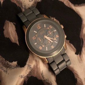 Gray and Rose Gold BKE Watch