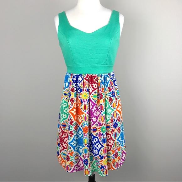 b048d4a199b8 Anthropologie Dresses & Skirts - Anthropologie {Judith March} Mosaic Print  Dress