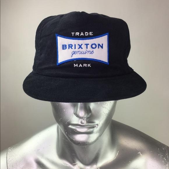 0b98b188c06 Brixton Other - Brixton Navy Corduroy Classic Logo Hat