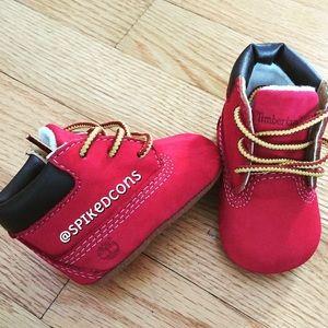 Red Infant Soft Bottom Custom Infant
