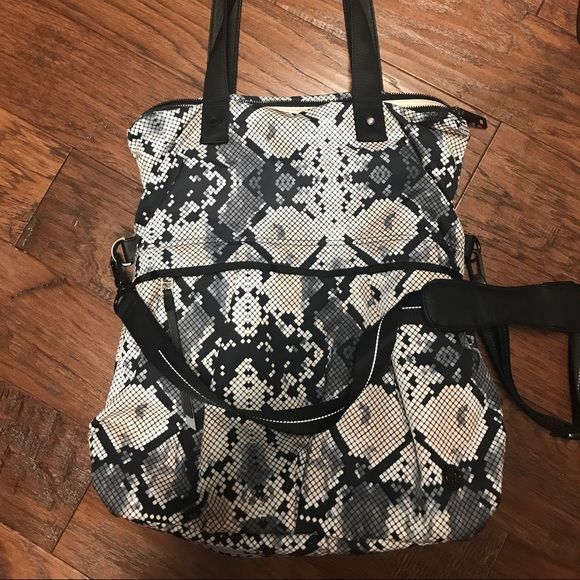 1c31a73707 lululemon athletica Bags | Lululemon Twice As Nice Tote Ziggy Snake ...