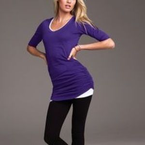 Victoria's Secret purple tunic