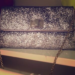 Sparkle Shoulder Bag or Clutch