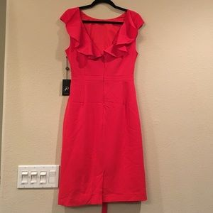 Adrianna Pappell Low-Back Dress