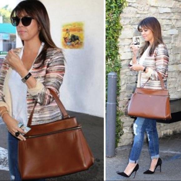 d8be61e2436e Celine Handbags - Celine Edge Medium in Burgundy