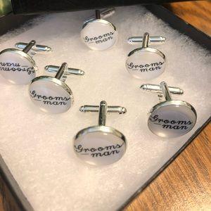 Other - Groomsman Cufflinks - Wedding Gift