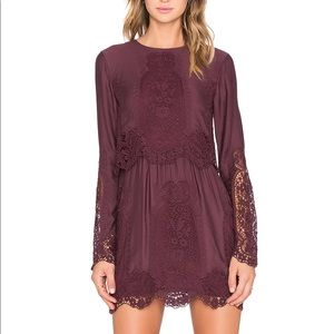 The Jetset Diaries Verona Lace Long Sleeve Dress
