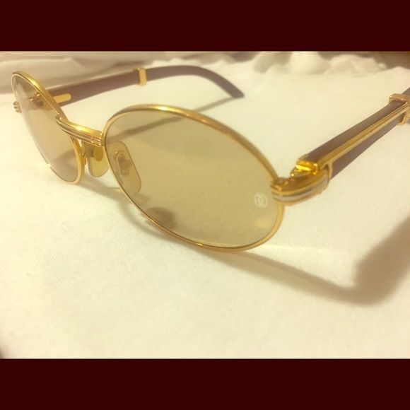 69b946e045 Cartier Other - AUTHENTIC Vintage Cartier Giverny Rosewood frames