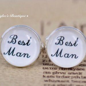 Other - Best Man Cufflinks Wedding Gift for Wedding Party
