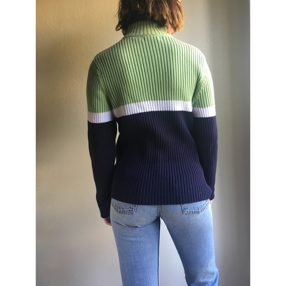 Vintage - Vintage✨striped thick cotton sweater from Stacey's ...
