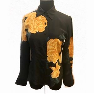 Beautiful vintage silk blouse