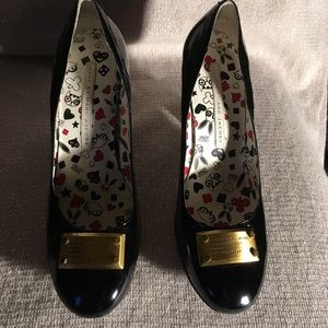 Marc By Marc Jacobs Black Patent Size 39.5M/US 8.5